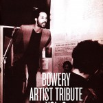 Swan, Ethan, ed., Bowery Artist Tribute Vol. 3 (Come Closer: Art Around the Bowery, 1969-1989; 09/19/12 – 12/30/12) New Museum (NYC, 2012) 6-7