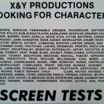 X&Y Productions Screen Tests
